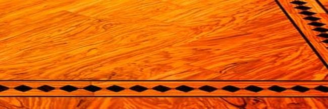 Parquet in legno d'ulivo